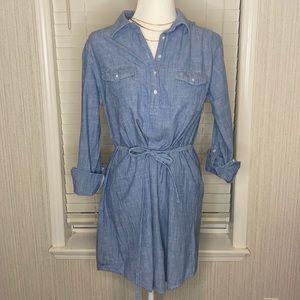 Bit & Bridle 100% Cotton Dress Adjustable Sleeve